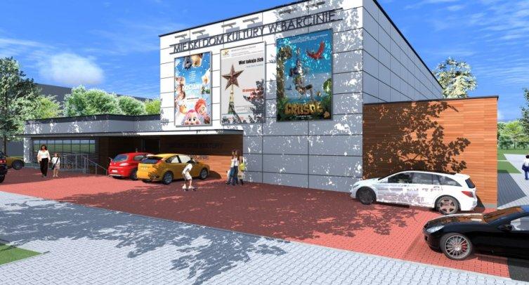 Wizualizacja Miejskiego Domu Kultury w Barcinie