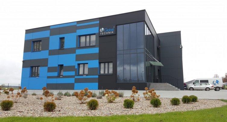 Nowa siedziba Global Technik Spółka z o.o. Spółka komandytowa w Piechcinie
