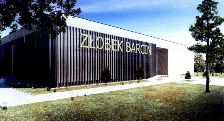 Wizualizacja koncepcji architektonicznej nowego żłobka w Barcinie