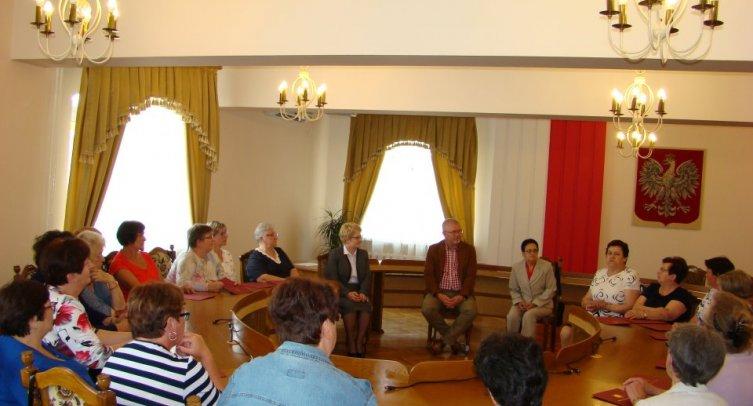 Spotkanie podsumowujące udział Gminy Barcin w VIII Powiatowych Prezentacjach Stołów Wielkanocnych w Żninie - fot. archiwum Urzędu Miejskiego w Barcinie