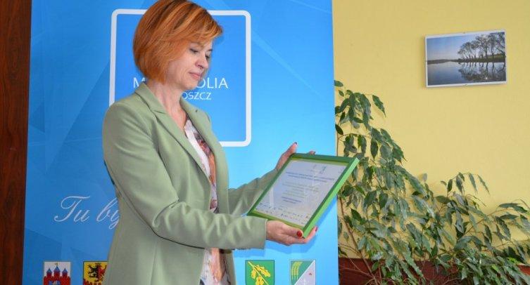 Dyrektor szkoły podstawowej Iwona Kausa - fot. Grzegorz Smoliński