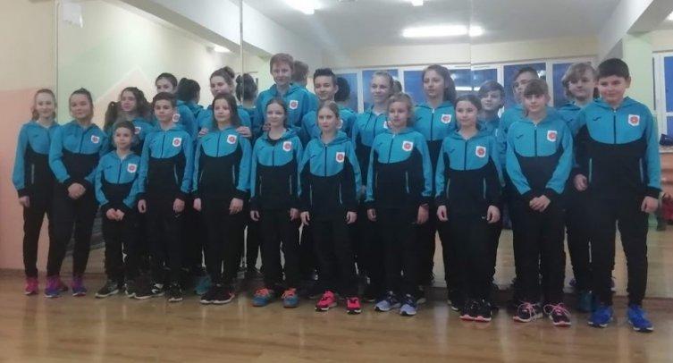Zawodnicy sekcji lekkoatletycznej w Barcinie – fot. Wioletta Jankowska