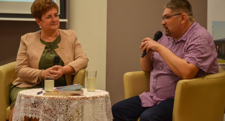 Grażyna Szafraniak i Krzysztof Leśniewski - fot. Joanna Bejma