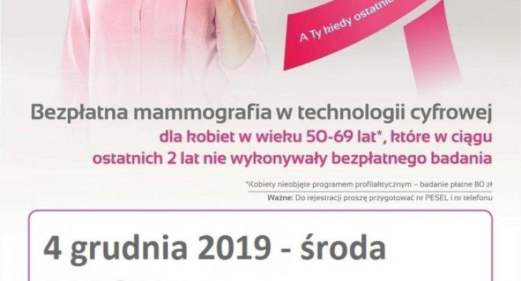 Mammografia w Barcinie