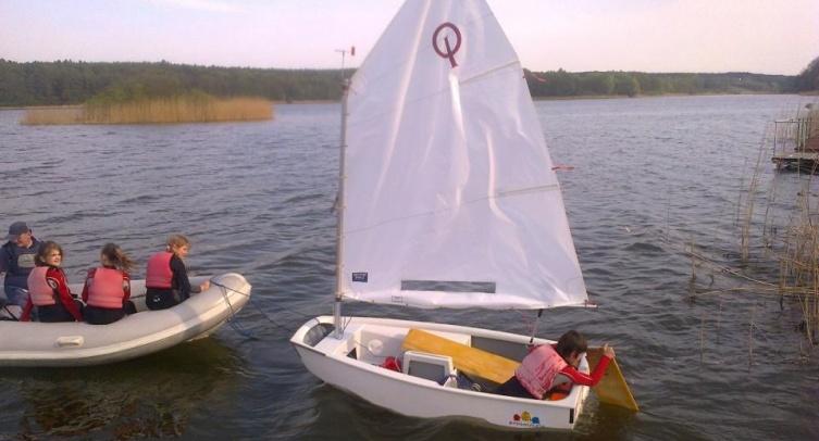 Szkolenie żeglarskie - fot. archiwum KŻ Neptun