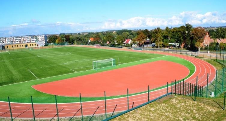 Stadion w Barcinie - fot. Grzegorz Smoliński