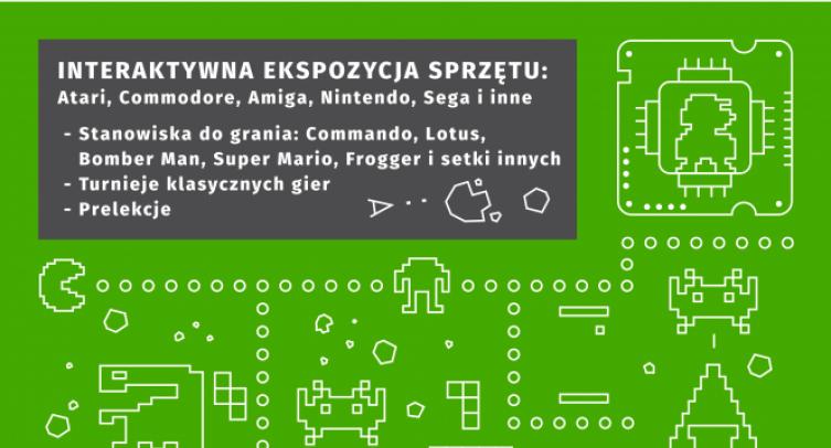Festiwal dawnych komputerów i gier w Barcinie