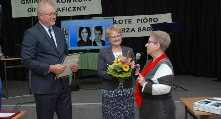 Michał Pęziak, Lidia Kowal i Jadwiga Stróżykiewicz - fot. Andrzej Jankowski